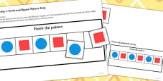 Workstation Pack Shape Pattern Activities