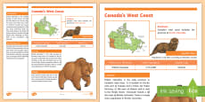 Canada's West Coast Fact File