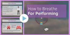 How to Breathe for Performing PowerPoint
