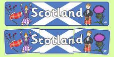 Scotland Display Banner