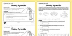 Making Pyramids Activity Sheet