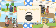 The Magic Porridge Pot Story Sequencing