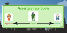 Superhero Assertiveness Scale