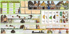 Stone Age to Iron Age Display Pack