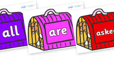 Tricky Words on Puppies (Carrier) to Support Teaching on Dear Zoo