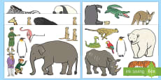 Zoo-Themed Cut-Outs