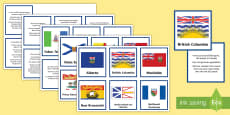 Canada's Provinces and Territories Facts Matching Cards
