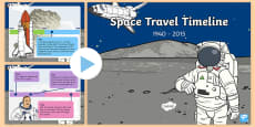 KS1 Space Travel Timeline PowerPoint
