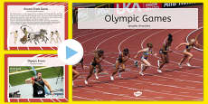 Olympics Information PowerPoint Polish Translation