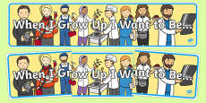When I Grow Up Display Banner