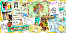 Food EYFS Lesson Plan, Enhancement Ideas and Resource Teaching Pack
