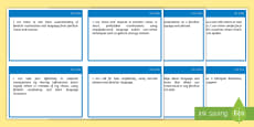 CfE Gaelic Learners Second Level  I Can Assessment Tracker