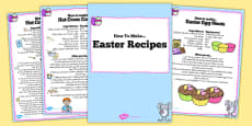 Easter Recipe Booklet