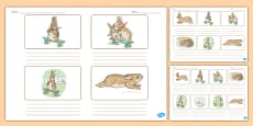 Beatrix Potter - The Story of a Fierce Bad Rabbit Storyboard Templates