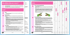 What Will My Child Learn In Year 2? Information Sheets