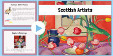 Scottish Artists PowerPoint