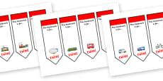 Editable Transport Bookmarks