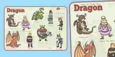 Australia - How to Train Your Dragon Word Mat