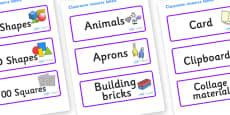 Lynx - Star Constellation Themed Editable Classroom Resource Labels