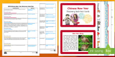 EYFS Chinese New Year Discovery Sack Plan and Resource Pack