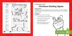 Amazing Fact a Day KS2 Countdown to Christmas Day 24 Twelve Days of Christmas Jigsaw Activity Sheet