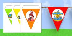 Summer Fair Themed Bunting (School Fair)