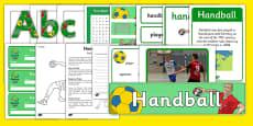 The Olympics Handball Resource Pack