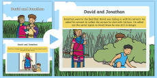 David and Jonathan Story PowerPoint