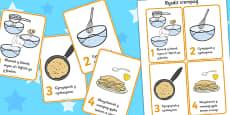 Pancake Recipe Sheets Welsh