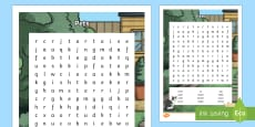 Pets Themed Word Search