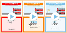 Formal Division Bus Stop Method PowerPoint Pack