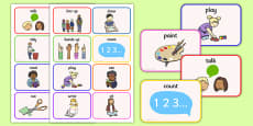 New EAL Starter Instructions Flash Cards