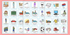 Daily Routine Visual Timetable for Girls Mandarin Chinese Translation