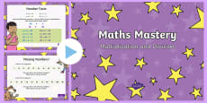 Year 1 Maths Mastery Multiplication and Division PowerPoint