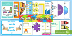 * NEW * Classroom Essentials Display Pack