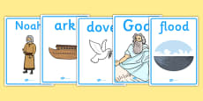 Noah's Ark Display Posters