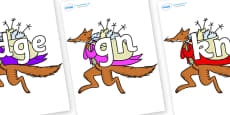 Silent Letters on Mr Fox to Support Teaching on Fantastic Mr Fox