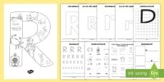 * NEW * Consolidarea literei R Broșură