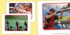 The Olympics Shooting Display Photos