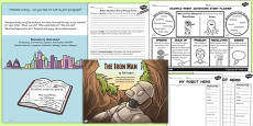 The Iron Man Inspired Story Writing Activity Pack