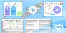 DT: Marbulous Structures: Exploring Structures UKS2 Lesson Pack 1