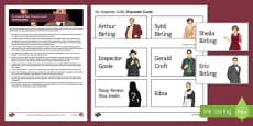 An Inspector Calls Character Cards Pack