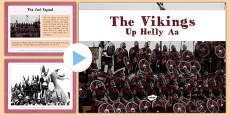 Up Helly Aa PowerPoint The Vikings CfE First Level