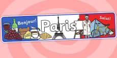 Paris Role Play Banner