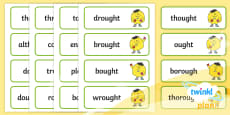 PlanIt Spelling Additional Resources Year 5 Term 3A Word Cards