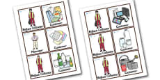 Recycling Centre Role Play Badges