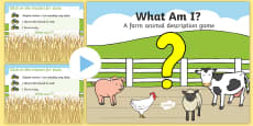 Farm Animal 'What Am I?' Interactive PowerPoint