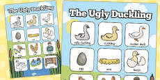 Ugly Duckling Vocabulary Poster