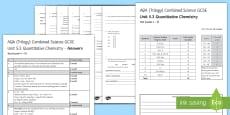 AQA (Trilogy) Unit 5.3 Quantitative Chemistry Test