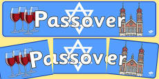 Passover Display Banner